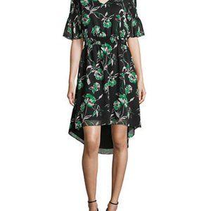 Imnyc Isaac Mizrahi Smocked Bell-Sleeve Dress